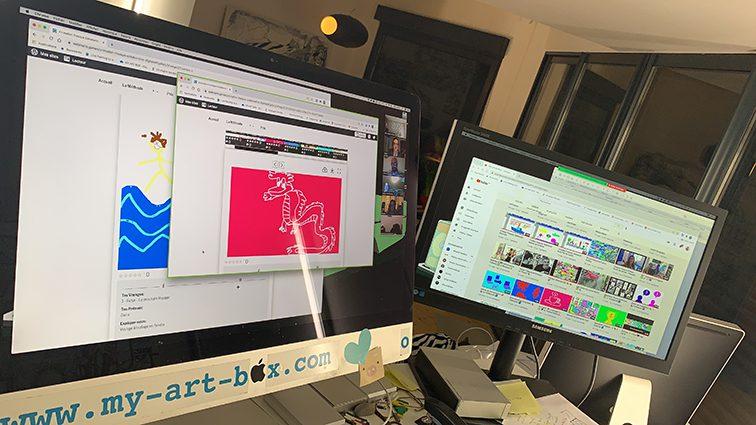 ana artiste exercice design thinking