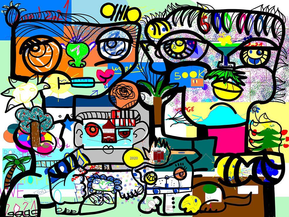Fresque Digitale Ile de France