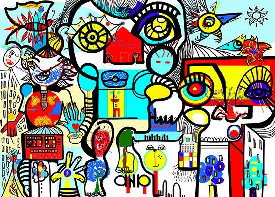Fresque Digitale Lyon Rhône