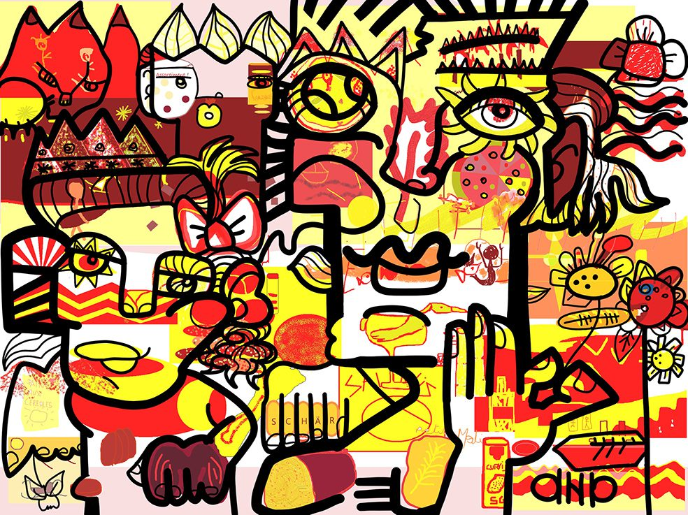 Fresque Digitale Oullins