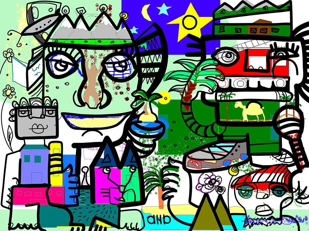Fresque Digitale Paris Ile de France