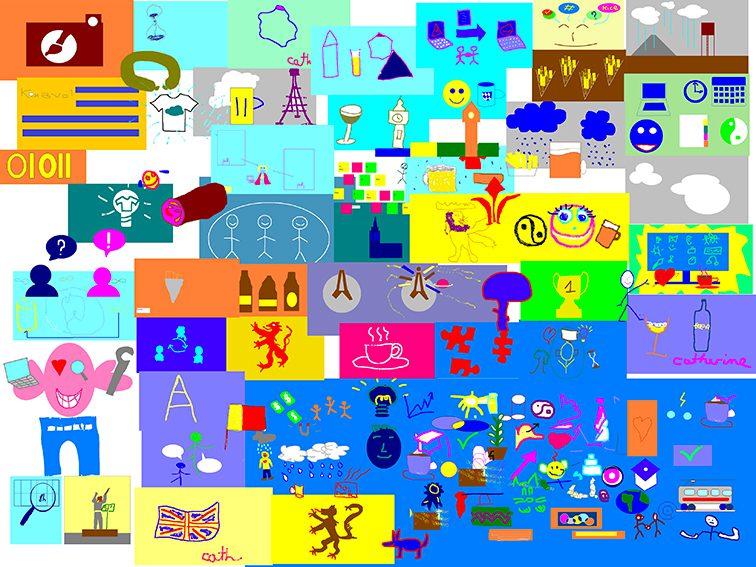 Œuvre Commune Digitale Lille Animation Fresque à Distance